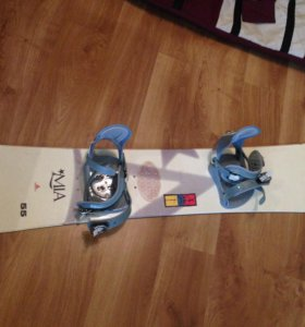 Сноуборд, крепления, ботинки Burton