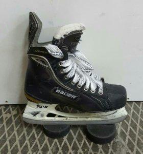 Коньки хоккейные  Bauer supreme ONE80 (размер 4D)