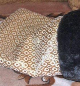 Меховой мешок для животных