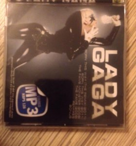 Диск с музыкой Lady Gaga