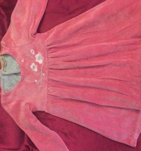 Платье на годовалую девочку