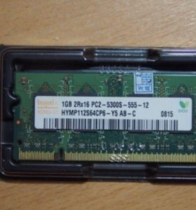 Оперативная память для ноутбука, Hynix DDR2 1Гб