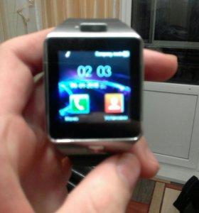 Смарт часы телефон dz09
