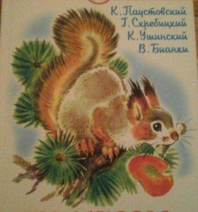 Книга рассказы о природе