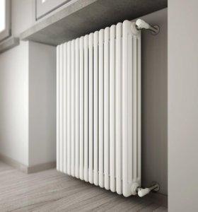 Замена стояков и радиаторов отопления