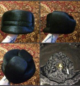 Мех.шапка(нерпа)