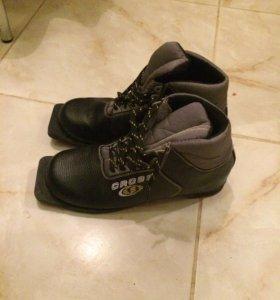 Новые лыжные ботинки 41 размер