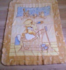 Детский плед ( одеяло).