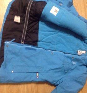 Зимняя горнолыжная куртка Salomon, рост 152