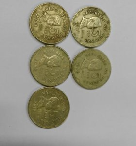 Погодовка монет Филиппин