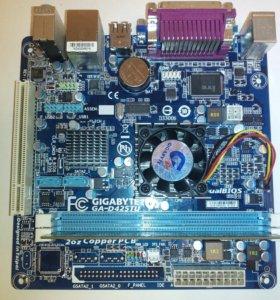 Материнская плата Gigabyte GA-D425TU с памятью