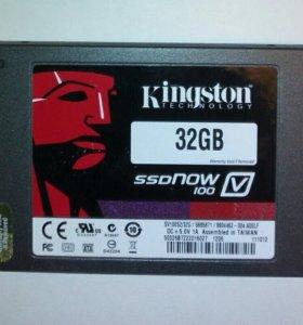 SSD Kingston 32Gb. SV100S2/32G