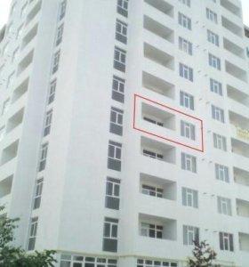 1-к квартира 55 м² с видом на море в Феодосии.