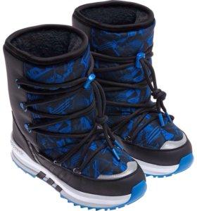 Новые зимние ботинки Adidas р.32 (21см)