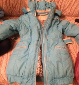 Куртка детская зимняя б/у
