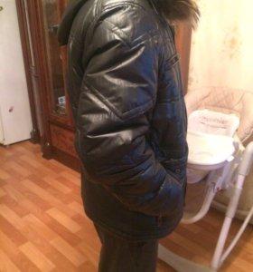 Куртка мужская зимняя б/у