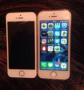 iPhone 5S Айфон 5s (2 телефона за 13500)