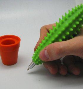 Шариковая ручка в виде цветов и кактуса