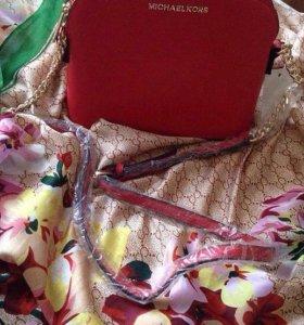 Сумка и платок