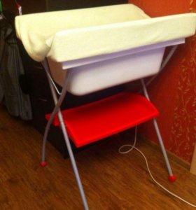 Ванночка с пеленальным столиком Prenatal