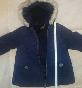 Зимняя куртка унисекс