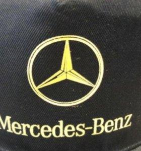 Бейсболка (кепка) Mercedes-Benz (синяя)