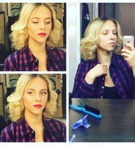 Предоставление услуг макияжа и причёсок.