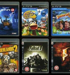 23 диска, игры для Sony PlayStation 3 лицензия
