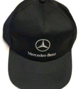 Бейсболка (кепка) Mercedes-Benz (чёрная)