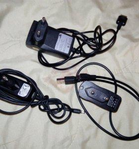 Зарядные устройства для телефонов.