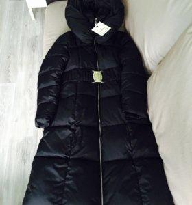Новое зимнее пальто-пуховик 48/50