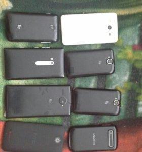 Телефоны,флай 4 шт, люмия, самсунг,мегафон,хтс