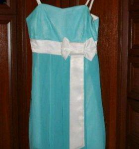 Шефоновое платье 42-44