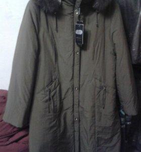 Весенее пальто новое