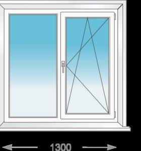 Готовые окна ПВХ .