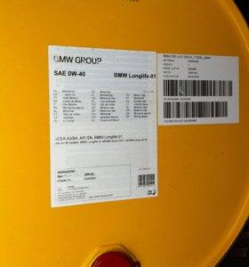 Моторное масло BMW 0W40 LongLife-01 209л