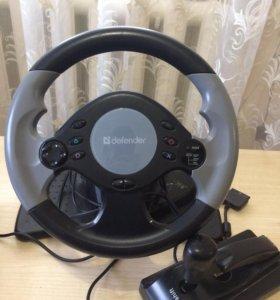 Игровой руль новый