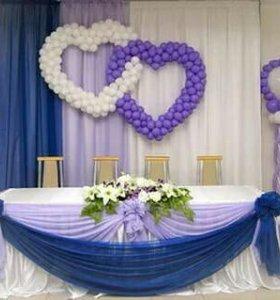Оформление свадеб и любых мероприятий