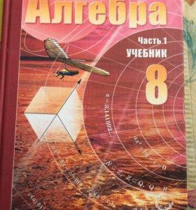 Учебники по алгебре 8 класс(учебник и задачник)
