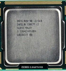 @ Процессор Intel Core i3 560 clarkdale 3,33 ghz