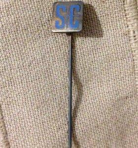 Значок булавка SC