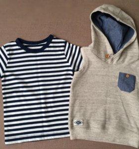 Комплект: жилет и футболка на мальчика