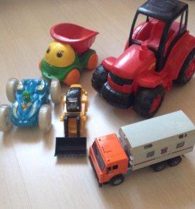 Перевёртыш , трактор , машинка...