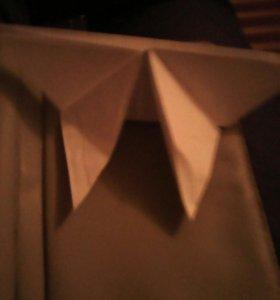 Бабочки оригами белая 7 руб,с узорами 12(бумага)