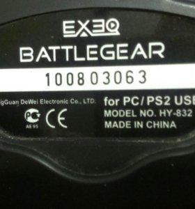 Exeq BattleGear HY-832 и Genius maxfire grandias