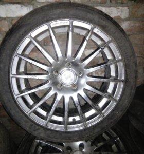 Колеса литые на Форд фокус на летней резине