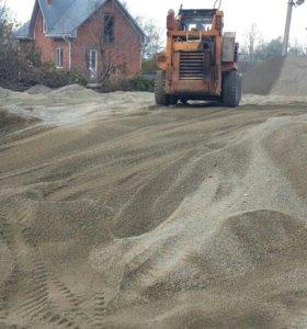 Отсев, щебень, песок, гпс.