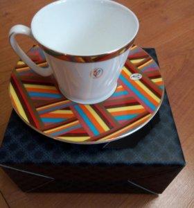 В.Юдашкин, фарфор, чашка с блюдцем, коллекция