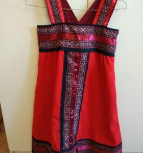 Сарафан для девочки, народный костюм