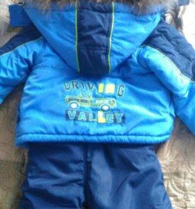 Куртка и + 2 полукомбенизона зима и весна-осень.